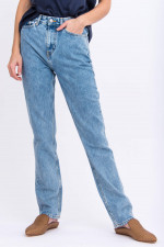 Vintage Mom-Jeans in Hellblau