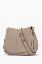 Crossbody Bag HELENA ROUND in Creme