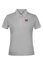 Woman Poloshirt in Light Grey