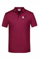 Men Poloshirt in Bordeaux