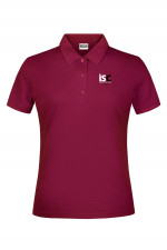 Woman Poloshirt in Bordeaux