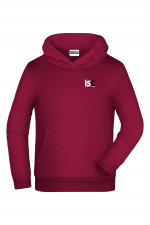 Children Hoodie in Bordeaux