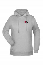 Women Hoodie in Light Grey
