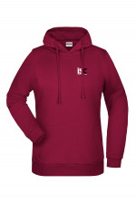 Women Hoodie in Bordeaux