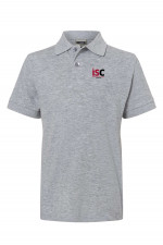 Children Poloshirt in Light Grey