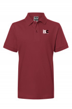 Children Poloshirt in Bordeaux