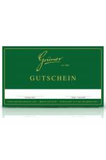 Gutschein per Post - 750 Euro