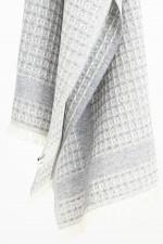 Woll-Mix Schal LOLA in Grau