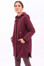 Travel Jacket in Weinrot