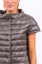 Kurzarm-Gilet in Graphit