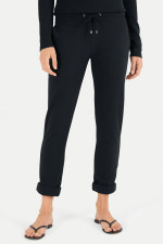 Relaxed Fit Sweatpants in Schwarz