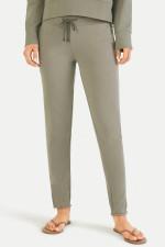 Slim Fit Sweatpants in Khaki