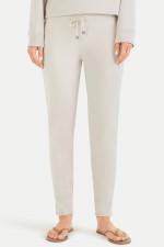 Slim Fit Sweatpants in Graugrün
