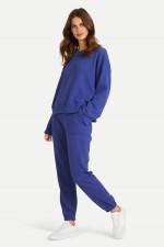 Casual Fit Sweatpants in Blauviolett