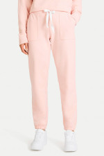 Casual Fit Sweatpants in Apricot