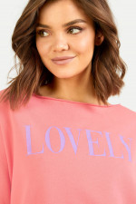 Sweater LOVELY in Koralle