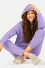 Hoodie in Lavendel