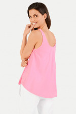 Oversized Top in Neonpink