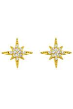 Ohrringe ASTRAL STAR in Gold