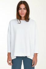 Oversized Sweater in Weiß