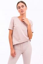 Baumwoll-Shirt DRESDA in Rosè