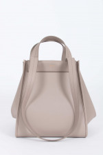 Wende-Maxi-Shopper in Taupe