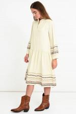 Boho-Kleid NIRVANA in Vanille