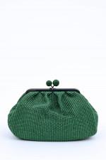 Puff-Tasche LIVIA in Grün