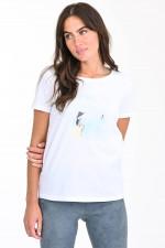 Shirt STRAND in Weiß