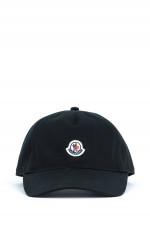 Basecap mit Logo-Patch in Schwarz