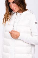 Jerseyjacke HYBRID in Weiß