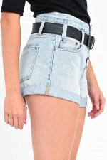 Jeans-Shorts MINDY in Hellblau