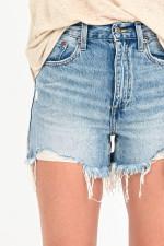 Jeans-Shorts MAEVE in Mittelblau