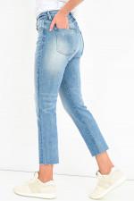 Cigarette Jeans MONROE in Hellblau