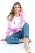 Cropped Bootcut Jeans LENNON in Mittelblau