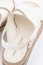 Sandale MILAN in Weiß