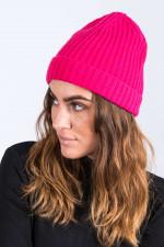 Wollmütze in Pink