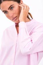 Baumwoll-Bluse in Pastel Pink