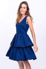 Pricess-Kleid ELISEA in Navy