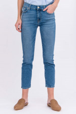 Jeans ROXANNE ANKLE LUXE in Mittelblau