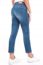 Jeans ROXANNE ANKLE LUXE in Mittelblau