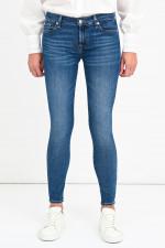Jeans THE SKINNY CROP in Mittelblau