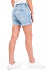 Jeans-Short BOY SHORTS in Hellblau