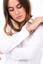 Klassische Bluse GINETTA in Weiß