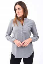 Bluse RISTY in Grau