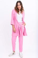 Moderne Anzughose in Pink