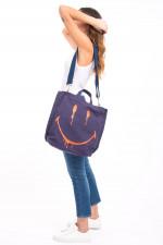 Tasche SMILEY in Blau