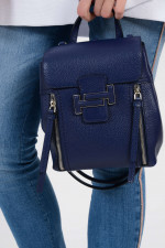Rucksack DOUBLE T MINI in Blau
