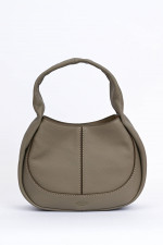 Kleines Hobo Bag in Taupe