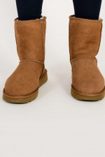 Boots CLASSIC SHORT in Chestnut